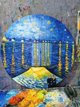 van gogh starry night reproduction