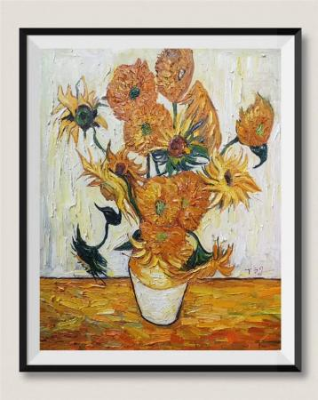 Van Gogh Sunflowers Oil Paintings