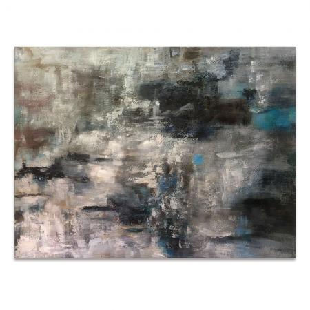 Grey Abstract Wall Art